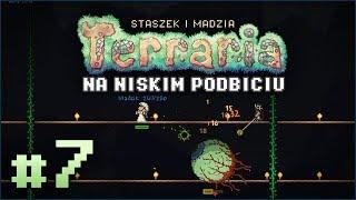 Terraria PL #7 z Madzią | BOSS! Oko Ciula... ale nie tylko! D: