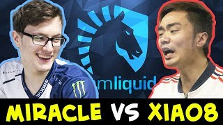 LIQUID vs EHOME — Miracle vs Xiao8 LEGEND FIRST TIME EVER