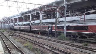 JR東日本EF81-141+14系(ばんえつ物語)+C57-157 新潟入線