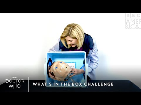 Jodie Whittaker Takes The Box Challenge | Doctor Who | New Year's Day at 8pm | BBC America