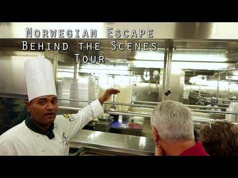 Norwegian Escape Behind the Scenes Tour (HD)