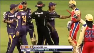 Gambhir vs kholi fight in ipl 2013 HD
