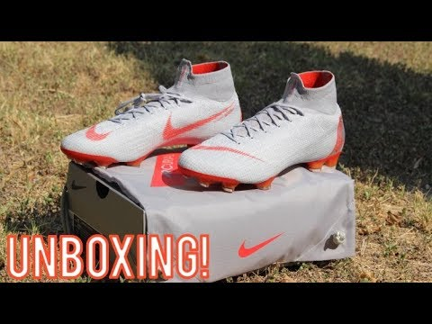 e23b5a023032 Nike Mercurial Superfly 6 Elite DF Raised On Concrete - Unboxing ...