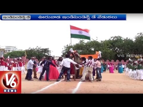 Ministers And Politicians Hoists National Flag Across Telangana | 70th Independence Day | V6 News