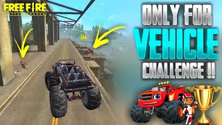 INDIA'S FIRST VEHICLE CHALLENGE IN FREE FIRE || TAMIL FREE FIRE TRICKS