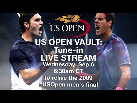 US Open 2009 Finals Replay: Roger Federer and Juan Martin del Potro