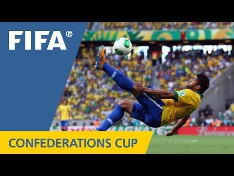 Brazil 2:0 Mexico, FIFA Confederations Cup 2013