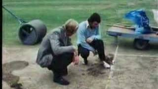 Vandals stop play - Eng v Aus 1975