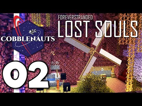 I Built This Windmill To Craft a SIGN! ▫ Forever Stranded: Lost Souls (Ep.02)