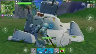 justinalbertyt - First Game with the Leviathan Skin + Planetary Probe (Fortnite Mobile)