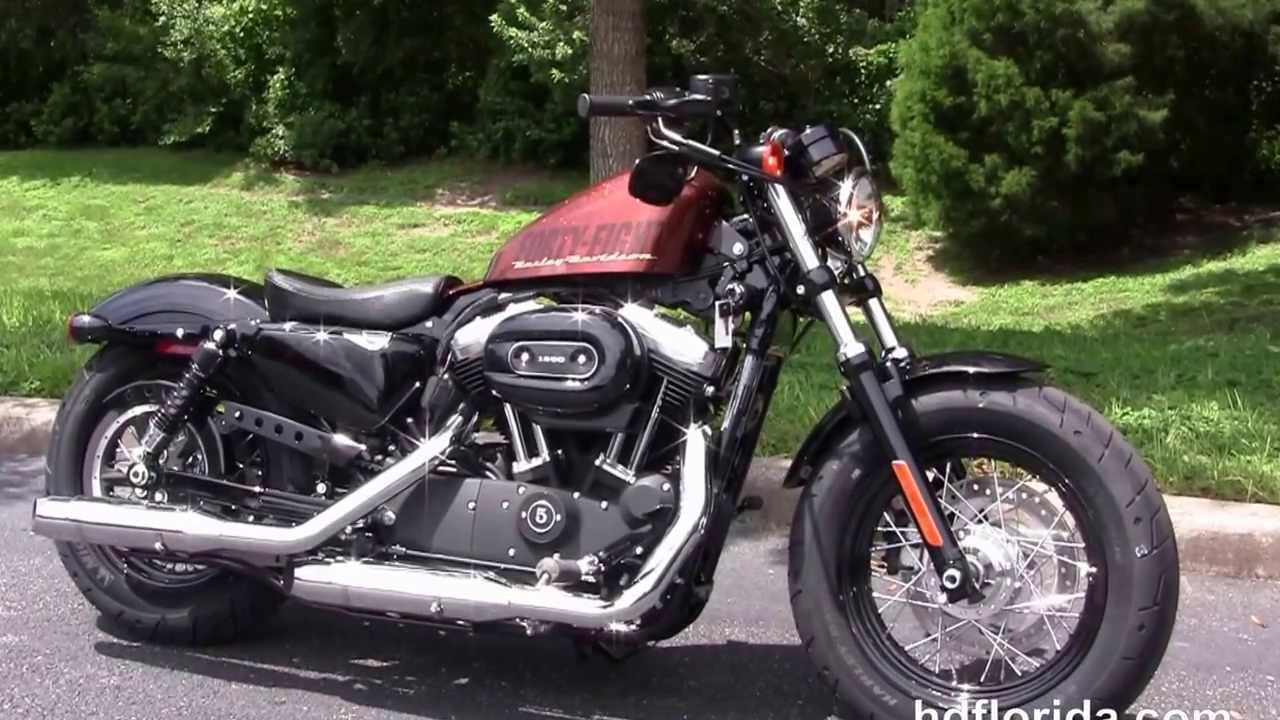 Harley Davidson: New 2014 Harley Davidson 1200 Sportster Forty Eight Review