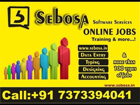 2.Types of online jobs -  Online jobs training in tamil