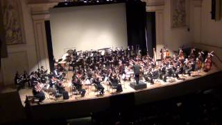 "1812 Overture  ""Overture Solennelle"", Op. 49 - Pyotr Ilyich Tchaikovsky - Peabody Youth Orchestra"