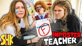 BAD REPORT CARD! We Caught an Imposter Teacher