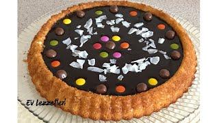 Çikolatalı tart kek tarifi / Mikser kullanmadan yapılan kolay tarif / Ev Lezzetleri