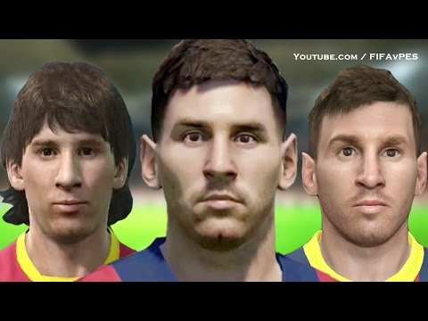 Lionel Messi From PES 4 To PES 2015 | HD 1080p