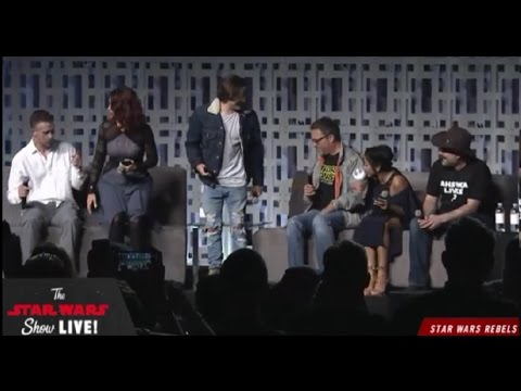 Star Wars Rebels Season Four Panel - Star Wars Celebration O