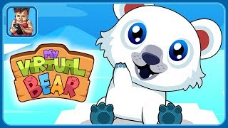 Заведи виртуального медвежонка в детской игре про питомцев My Virtual Bear от Tapps Games