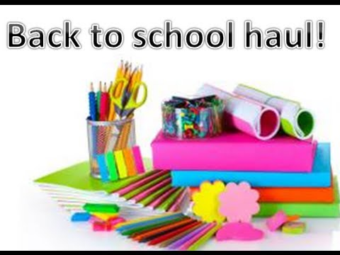 Back to school haul ! Officeworks ~ Kmart and more! - YouTube