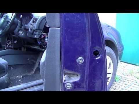 VW Golf Jetta Door Lock Removal