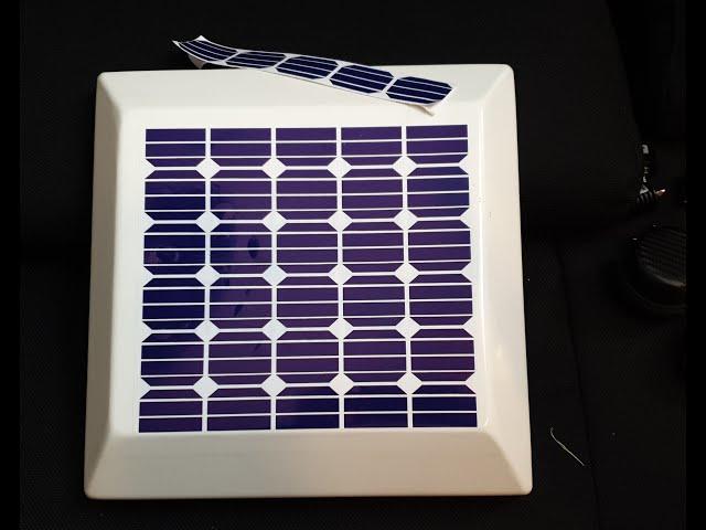 2.4 GHz Antenne als Solarzelle tarnen
