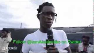 Young Thug Explains Why He Calls his Male Friends