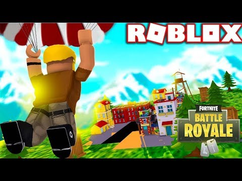 FORTNITE BATTLE ROYALE LLEGA A ROBLOX!!! - ISLAND ROYALE ...