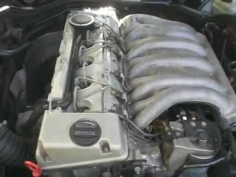 Mercedes Benz OM606 Turbodiesel Engine YouTube