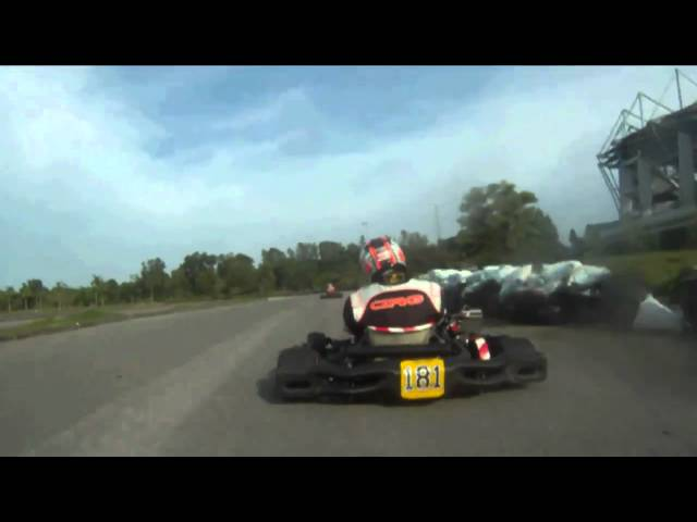 Freddy Lawan Rotax Max Celebrity Race Kuching Stadium Sarawak 17 Oct 2010 Part 2 Travel Video