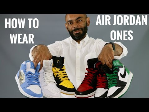 07666ac0789 How To Wear Air Jordan 1's/My Air Jordan 1 Collection - YouTube