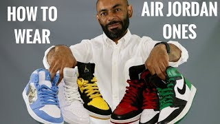 How To Wear Air Jordan 1's/My Air Jordan 1 Collection