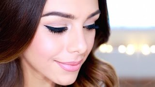 EVERYDAY WINGED LINER TUTORIAL | Annie Jaffrey