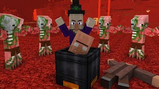 Minecraft Mobs Life    Minecraft Animation