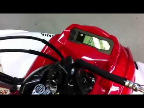 YAMAHA RAPTOR 700 R 700R YFM 2011 - YouTube