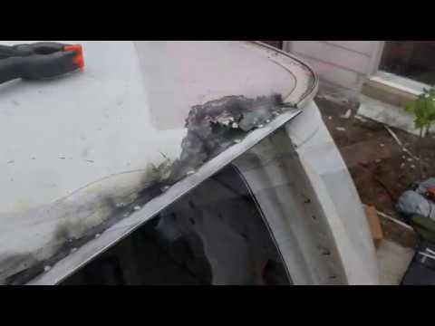 Ford e250 Econoline Cargo Roof Rust Repair - Project Van