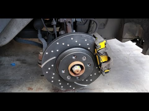 Project Sandero -  EBC Brake Upgrade
