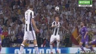 Real Madrid - Juventus (4-1), chung kết Champions League 2017