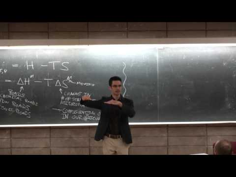 Ep11 Thermodynamics, ideal solutions, entropy - UC San Diego - NANO 134 Darren Lipomi