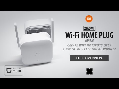 Xiaomi Home Plug - WifiCat - Powerline : Internet over your electrical wiring!