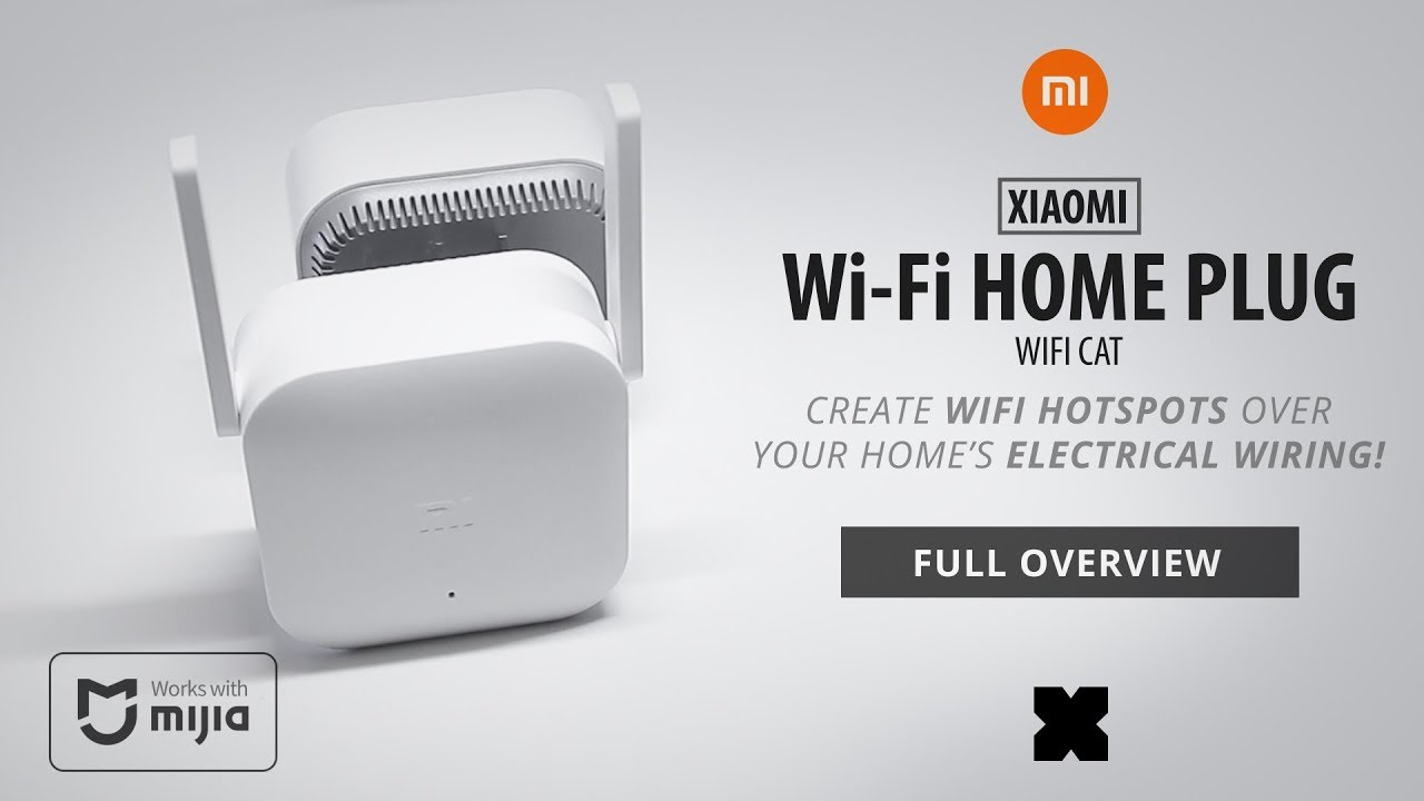 xiaomi home plug wificat powerline internet over your electrical wiring  [ 1280 x 720 Pixel ]