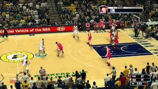 NBA2K14 Bulls vs Pacers Second Half PC Gameplay