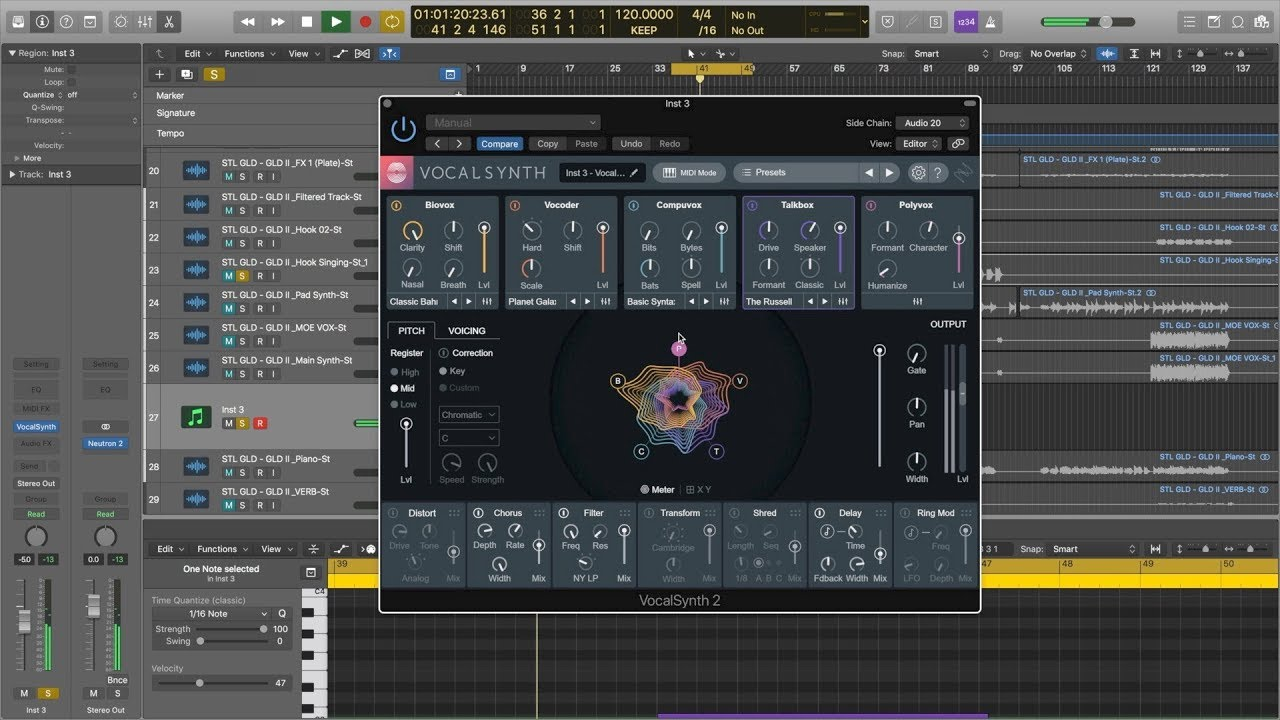 JRRshop com   iZotope VocalSynth 2 Upgrade from VocalSynth 1