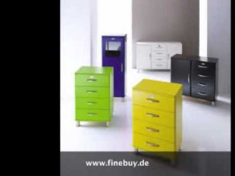 tenzo malibu sideboard 5124 youtube. Black Bedroom Furniture Sets. Home Design Ideas
