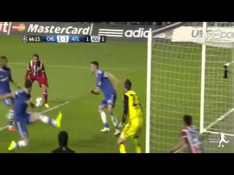 Chelsea vs Atletico Madrid 1-3 2014 ~ All Goals & Highlights ~ [01-05-2014]