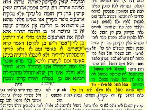 תלמוד בבלי - גמרא - בצורה שלא הכרתם שיעור 8 Talmud Learning Tora4all