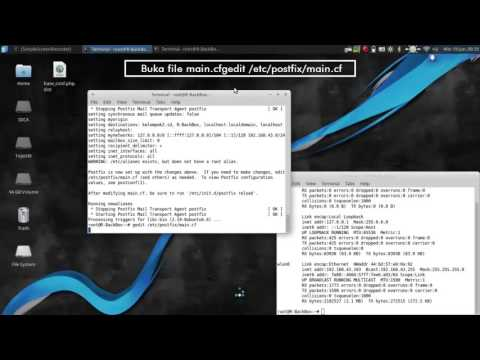 HOW TO INSTALL AND CONFIGURE SQUIRRELMAIL WITH POSTFIX ON BACKBOX LINUX