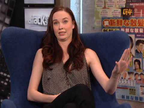 Elyse Levesque Interviewed By G4 - Stargatearchive.com