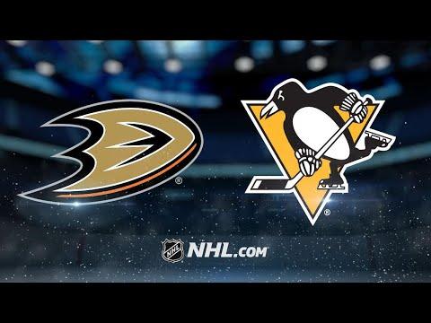 Gibson, Rakell lead Ducks to 4-0 shutout of Penguins