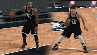 WHAT IF STEPHEN CURRY AND LEBRON JAMES WENT TO THE BROOKLYN NETS? NBA 2K17 GAMEPLAY!