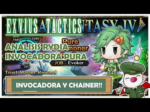 FFBE Global - ANALISIS RYDIA INVOCADORA PURA (Pure Summoner Rydia)